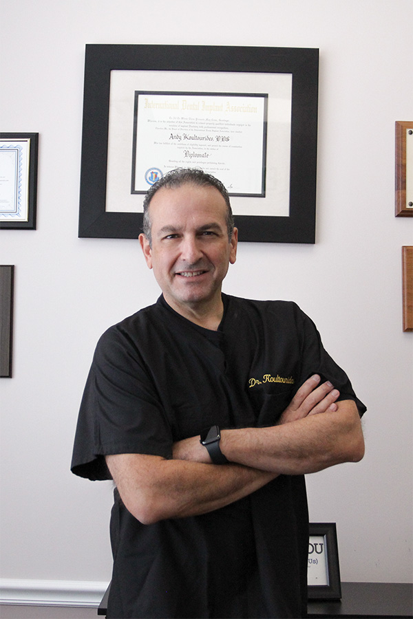 dr andy koultourides